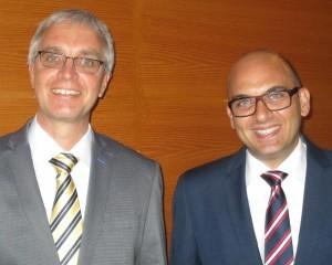 Hendrik Tzschaschel und Murat Eyiberispek