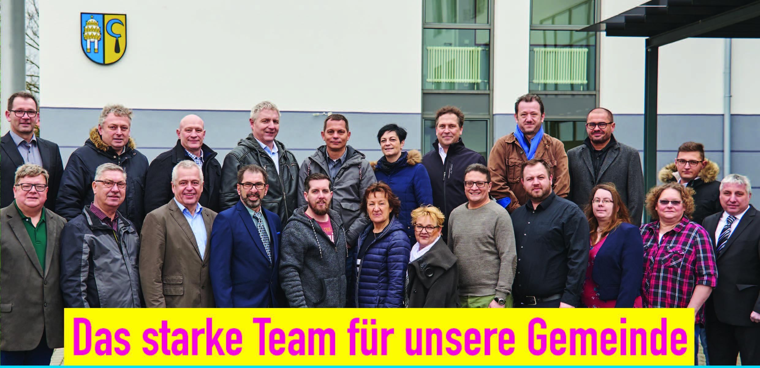 Gruppe Kandidaten 2019