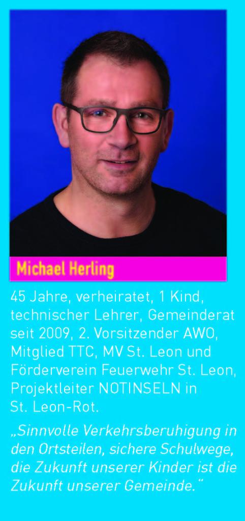 Gemeinderatskandidat Michael Herling